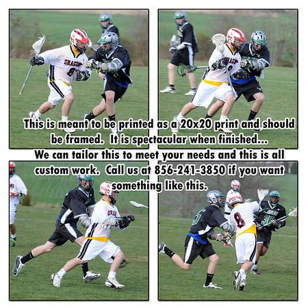 Boy's Lacrosse - Kingsway vs Winslow - 4/9/09 (Varsity)