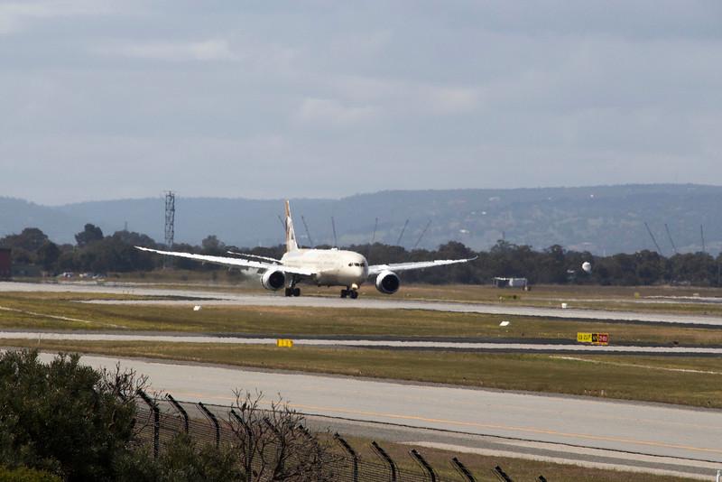 Etihad Airways Boeing 787 Dreamliner