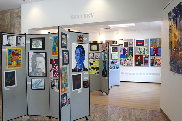Middle School Spring Art Show!