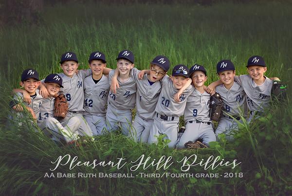 Pleasant Hill Billies - Babe Ruth AA