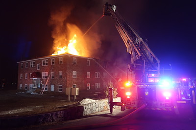 4 Alarm Apartment Building Fire - Townsend, MA - 2/4/2019