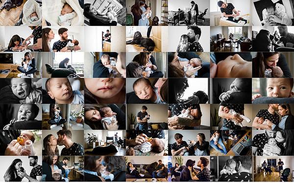 Sesión documental de recién nacidos · Federica, 13 días