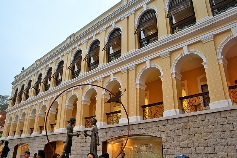 The portugese architecture, Macau
