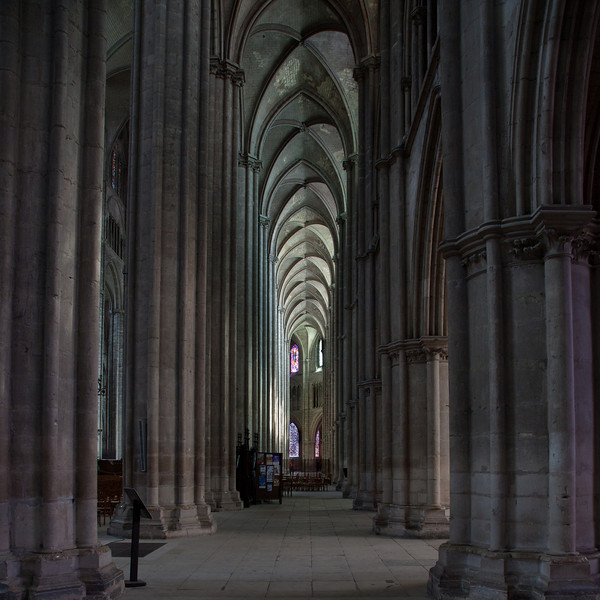 Bourges, Saint Stephen Cathedral South Inner Aisle