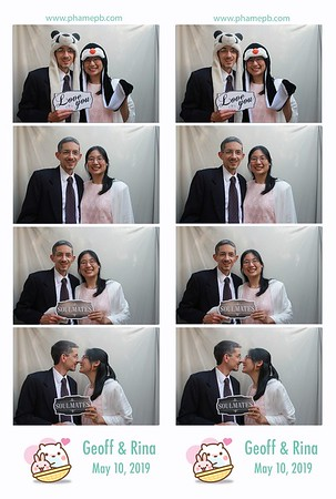 Geoff & Rina's wedding