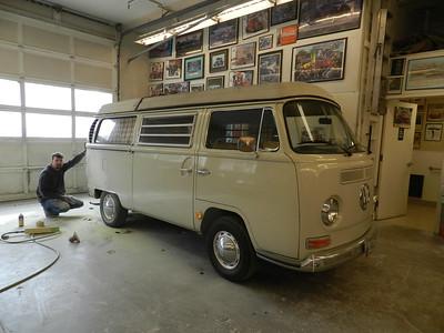 Volkswagen Camper Bus - Stephen Shortridge