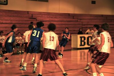 7th grade basketball final game