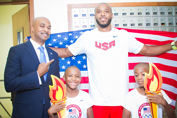 Angelo Taylor 2012 Olympic Send Off