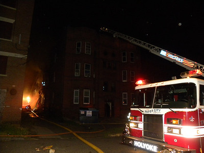 Holyoke, MA 2nd alarm w/ special call 117 Essex St. 6/6/11