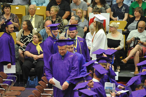 Matt Graduates from WIU 05-16-15