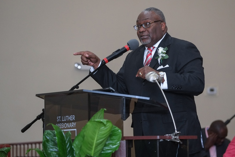 Installation of Rev. Charles E. Polk, Jr. at St. Luther MBC.