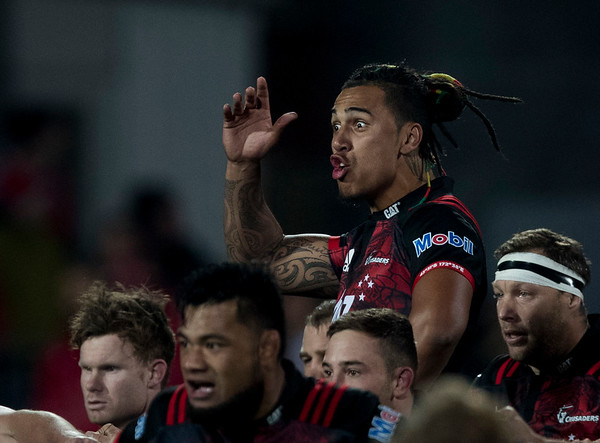 Haka during game 3 of the British and Irish Lions 2017 Tour of New Zealand,The match between  Crusaders and British and Irish Lions, AMI Stadium, Christchurch, Saturday 10th June 2017 (Photo by Kevin Booth Steve Haag Sports)  Images for social media must have consent from Steve Haag