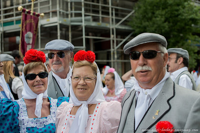 Madrid Festival - Strangely Dressed Old ppl