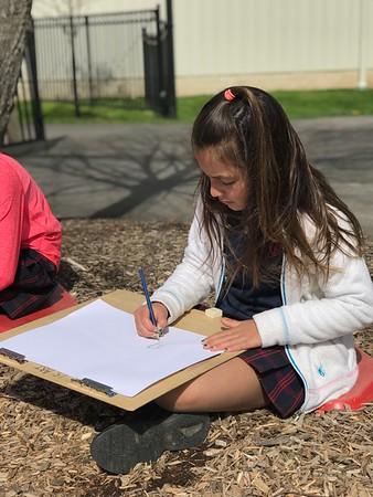 3rd Grade - Playground Drawings