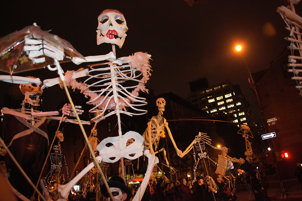 Halloween parade, New York - October 31, 2013