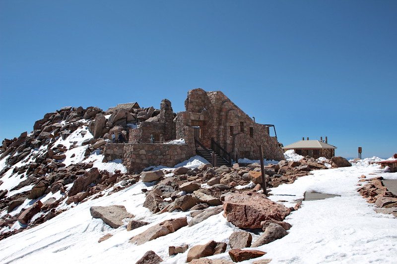 Mount Evans Summit House ~ 14,200 feet