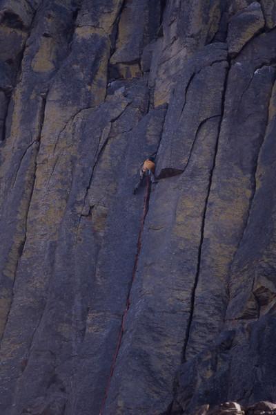 Basalt Crack Climb