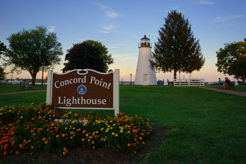 1123 - Maryland - Concord Point Lighthouse Havre De Grace (p).jpg