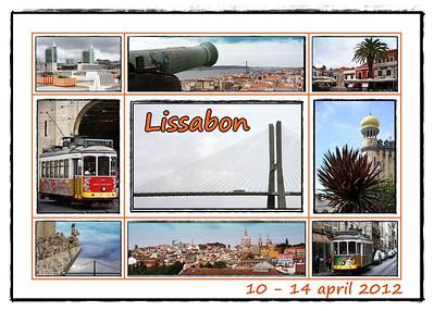 Lissabon  10-14 april 2012