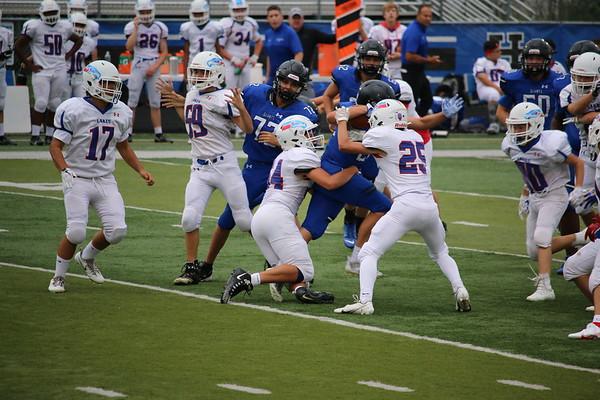 20210903 HPHS Frosh/Soph Football - Giants vs Lakes