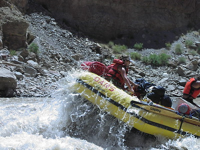 Water in the U.S. West: Rafting the Colorado