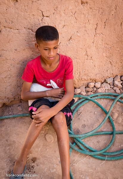 Young Boy in Tamnougalt