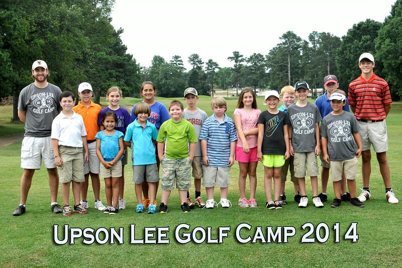 Upson-Lee Golf Camp  June 26, 2014
