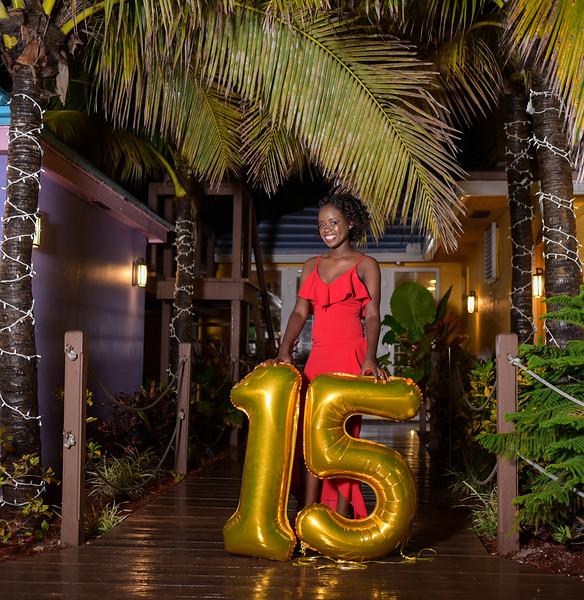 Krystal Saunders 15th Birthday