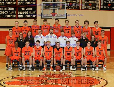 2016-2017 OGHS Boys Basketball