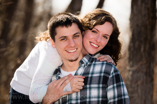 Heather and Parker, Red Butte Gardens