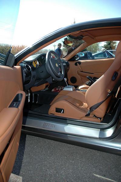 Interior of the F430