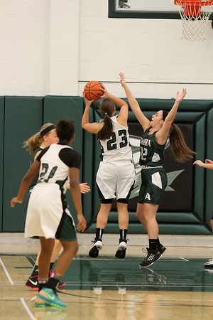 Ladies Basketball - Aurora @ Nordonia JV