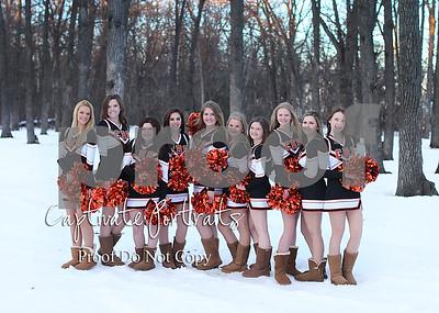 2016 Cavalier Cheerleaders
