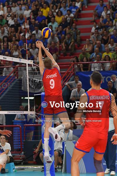 ITALIA vs SERBIA, 2019 FIVB Intercontinental Olympic Qualification Tournament - Men's Pool C IT, 11 agosto 2019. Foto: Michele Benda per VolleyFoto.it [riferimento file: 2019-08-11/ND5_7191]