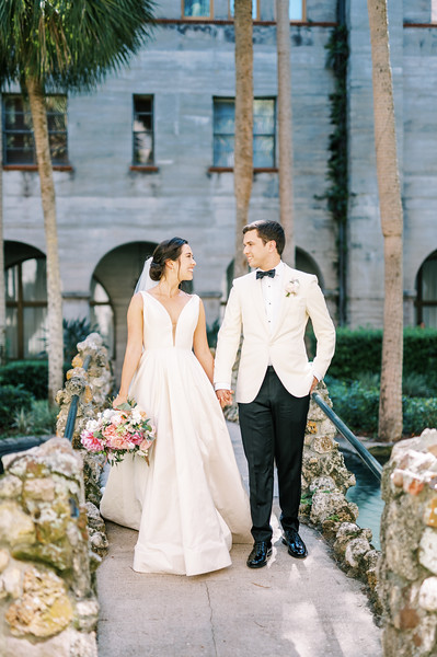 Michael and Lauren's Small Wedding   St. Augustine, FL