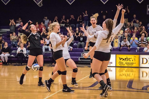 Defiance College Volleyball 09-11-2018