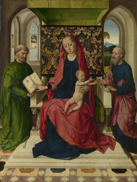 The Virgin and Child with Saint Peter and Saint Paul