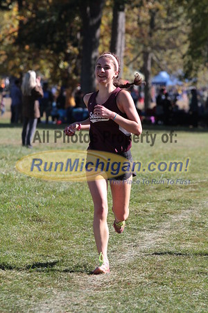 Girls JV 1.5 mile - 2015 Oakland County XC Championship