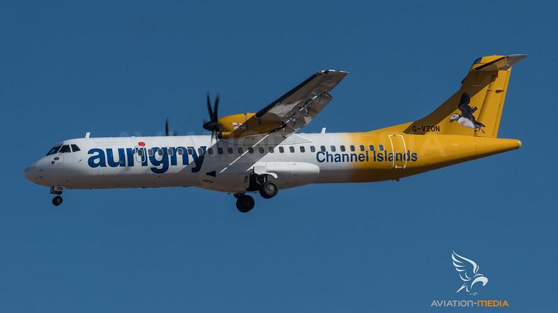 Aurigny / ATR 72-500 (72-212A) / G-VZON