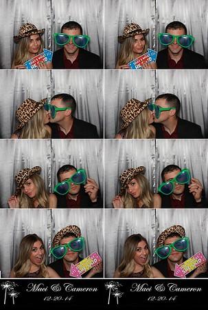 Maci & Cameron 12.20.14 @ Cypress Lakes CC
