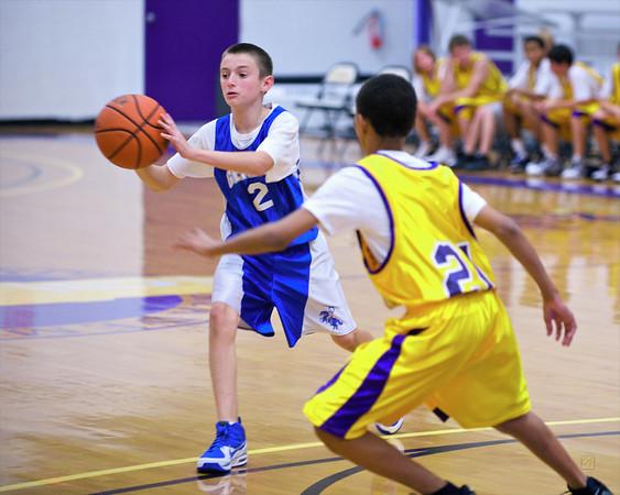 7th/8th Grade Basketball vs. Montverde, January 14, 2010