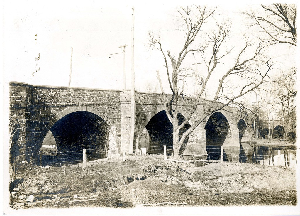 . This undated photo from the Historical Society of Montgomery County shows the Perkiomen Bridge in Collegeville.