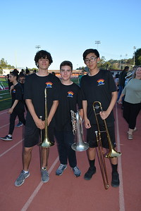 LCHS Band Puts on a Preview, Barbecue