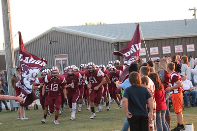 2016 OKU Varsity Football Sept. 30