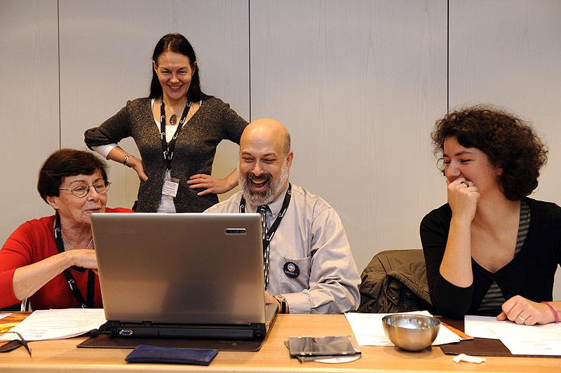 The 2008 Berlin Languages & The Media Audio Description workshop.