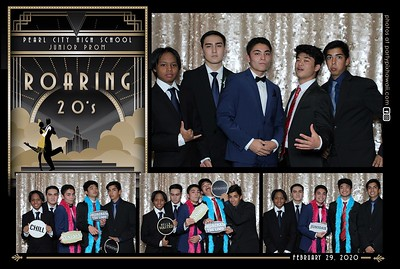 Pearl City HS Junior Prom 2020 (Mini LED Photo Booth)