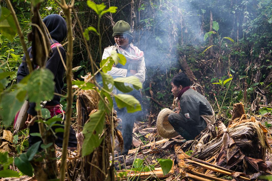 Mae Chaem Mahouts Campfire
