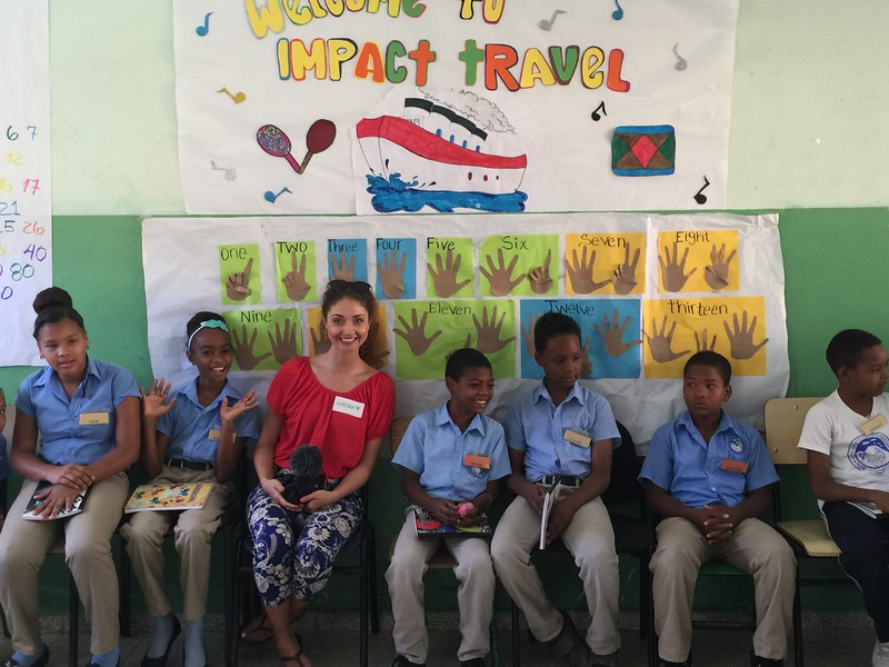 Fellow traveller Marsha with Students.jpg
