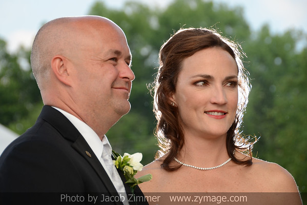 Tim Corrigan and Courtney Protzers' Wedding