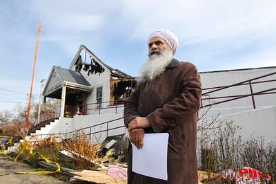20141112 - Guru Nanak Sikh Mission Fire (SN)